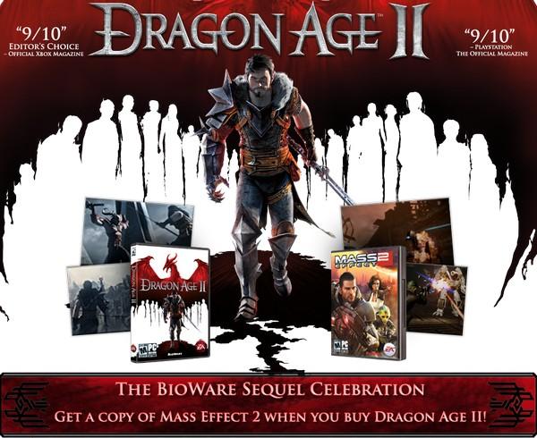 Dragon Age II - бесплатный Mass Effct 2